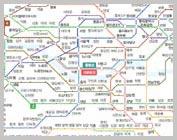 ソウル地下鉄路線図